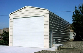 Metal Storage Facility