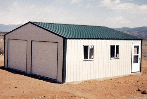 Steel Building 26x30x10 Residential Garage