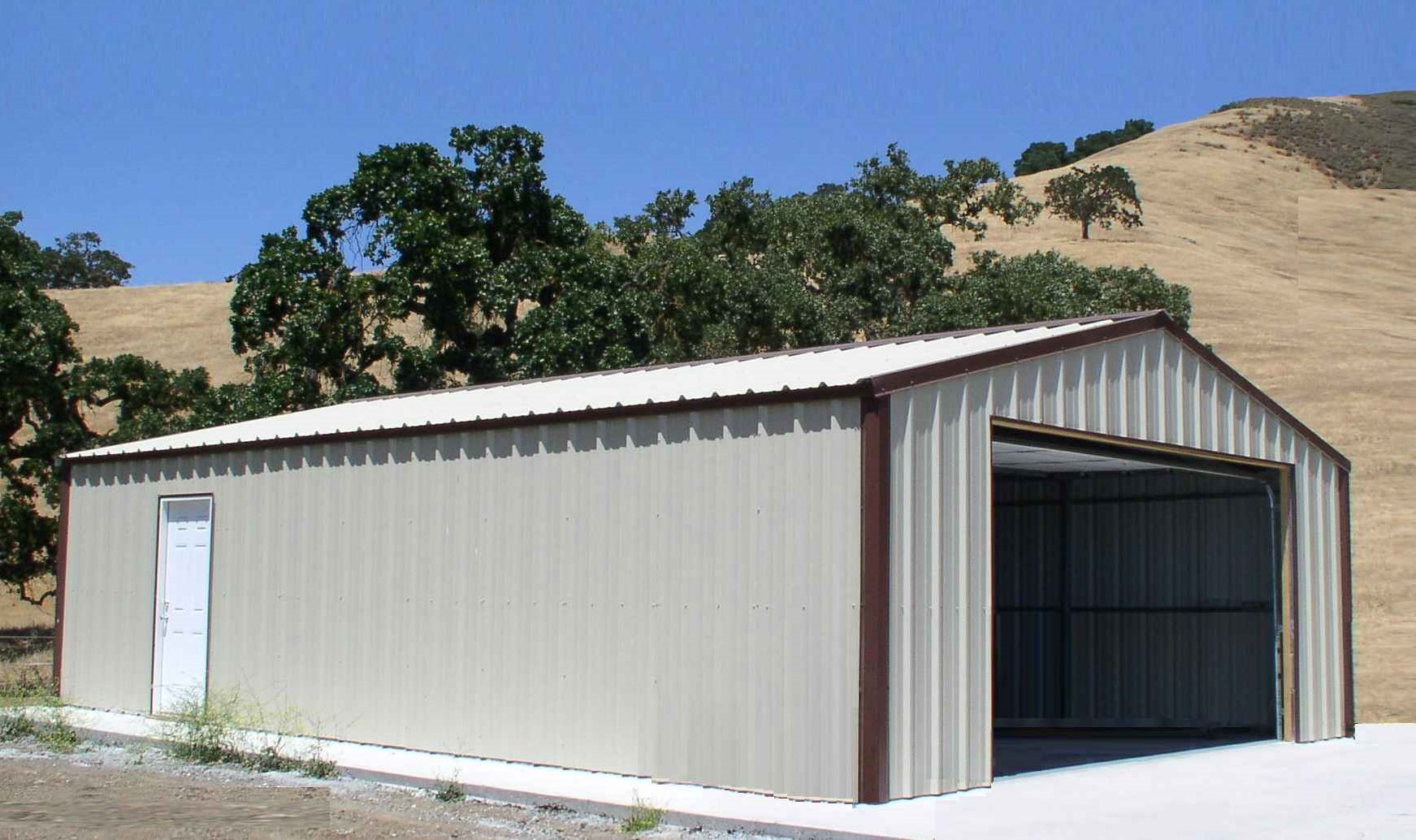 Steel Building 24x35x9 workshop CA