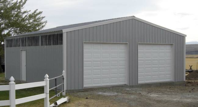 Steel Building 30x40x10 Residential Garage